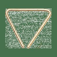 SABIAN TRIANGLE HH 5 POUCES MARTELE