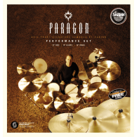 "SABIAN NP5005N SET HARMONIQUE PARAGON PERFORMANCE 14""-16""-20"""