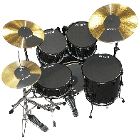 VIC FIRTH SOURDINES PACK ROCK 22+ 2 CYMBALES