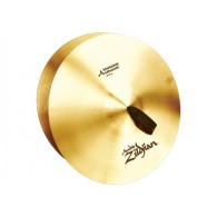 "ZILDJIAN A CYMBALES FRAPPEES18"" SYMPHONIC GERMANIC TONE - LA PAIRE"