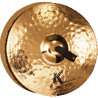 "ZILDJIAN K2014 K SYMPHONIC 18"" LIGHT BRILLIANT PAIRE"