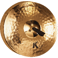 "ZILDJIAN K2018 K SYMPHONIC 20"" LIGHT BRILLIANT PAIRE"