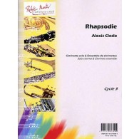 CIESLA A. RHAPSODIE CLARINETTES