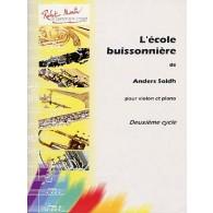 SOLDH A. L'ECOLE BUISSONNIERE VIOLON