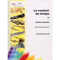 NAULAIS J. LA COULEUR DU TEMPS VIOLON