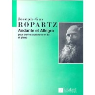 ROPARTZ G.J. ANDANTE ET ALLEGRO CORNET