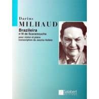 MILHAUD D. BRAZILIERA VIOLON