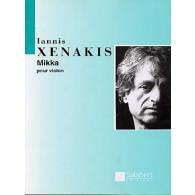 XENAKIS I. MIKKA VIOLON SOLO