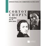 CHOPIN F. ETUDES OP 25 PIANO