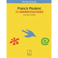 POULENC F. IMPROVISATIONS PIANO