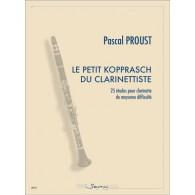 PROUST P. LE PETIT KOPPRASCH DU CLARINETTISTE CLARINETTE