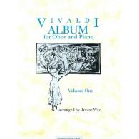 WYE VIVALDI A. ALBUM VOL 1 HAUTBOIS