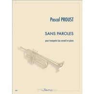 PROUST P. SANS PAROLES TROMPETTE