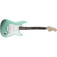 SQUIER AFFINITY STRATOCASTER SURF GREEN ROSEWOOD