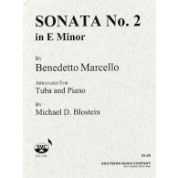 MARCELLO B. SONATE N°2 TUBA BASSE