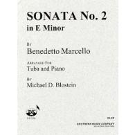 MARCELLO B. SONATE N°2 TUBA BASSE