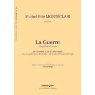 MONTECLAIR M. P. DE LA GUERRE TROMPETTE