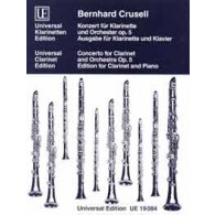 CRUSELL B.H. CONCERTO OP 5 CLARINETTE