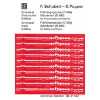 SCHUBERT F. / POPPER D. FRUHLINGSGLAUBE - STANDCHEN VIOLONCELLE