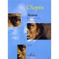 CHOPIN F. NOCTURNE OP 72 N°1 PIANO