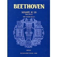 BEETHOVEN L.V. SONATE N°20 OP 49 N°2 PIANO