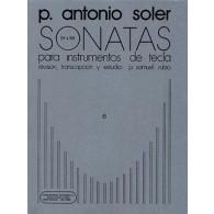 SOLER P.A. SONATAS VOL 6 PIANO