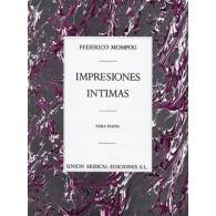 MOMPOU F. IMPRESIONES INTIMAS PIANO