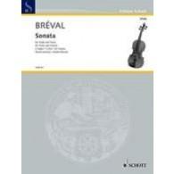 BREVAL J.B. SONATA DO MAJEUR ALTO