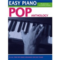 CONCINA F. EASY PIANO POP ANTHOLOGY