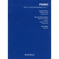PIECES CONTEMPORAINES VOL 1 PIANO
