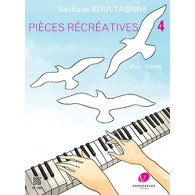 BERA-TAGRINE N. PIECES RECREATIVES VOL 4 PIANO