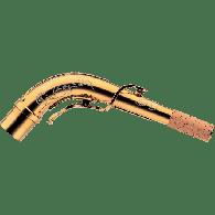 BOCAL  SAXOPHONE ALTO YANAGISAWA A195 ARGENT MASSIF PLAQUE OR