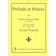 FRANCK C. PRELUDE ET PRIERE ORGUE