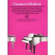 CLASSICS TO MODERNS VOL 6 PIANO