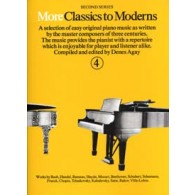 MORE CLASSICS TO MODERNS VOL 4 PIANO