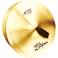 """ZILDJIAN AVEDIS CYMBALES FRAPPEES 16"""" CONCERT STAGE"""