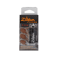 ZILDJIAN PACK 3 PROTECTIONS AUDITIVES + FILTRES COULEUR FONCE