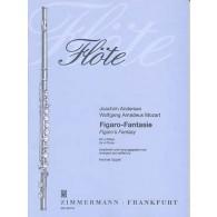 ANDERSEN J./MOZART W.A. FIGARO-FANTAISIE 4 FLUTES
